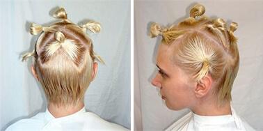брондирование волос сделать в домашних условиях пошаговое фото