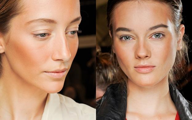 бронзатор - скульптурный макияж