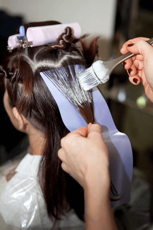 брондирование волос сделать в домашних условиях фото