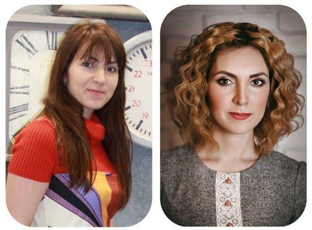 биозавивка: фото до и после