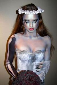 фото макияжа мертвой невесты