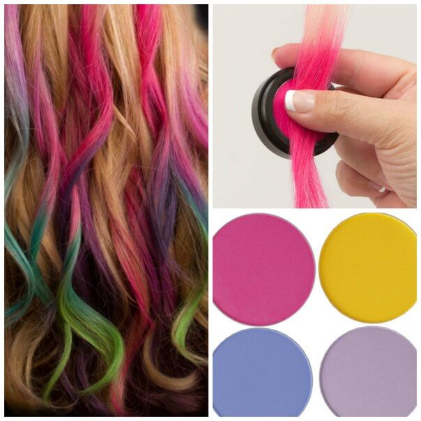 как покрасить правильно волосы мелка мелками