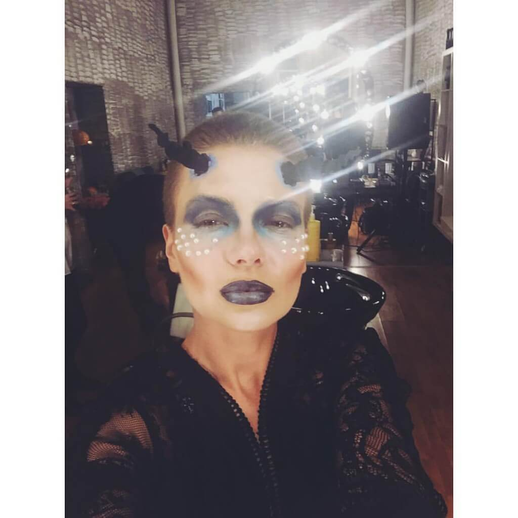 макияж дьяволицы на хелуин