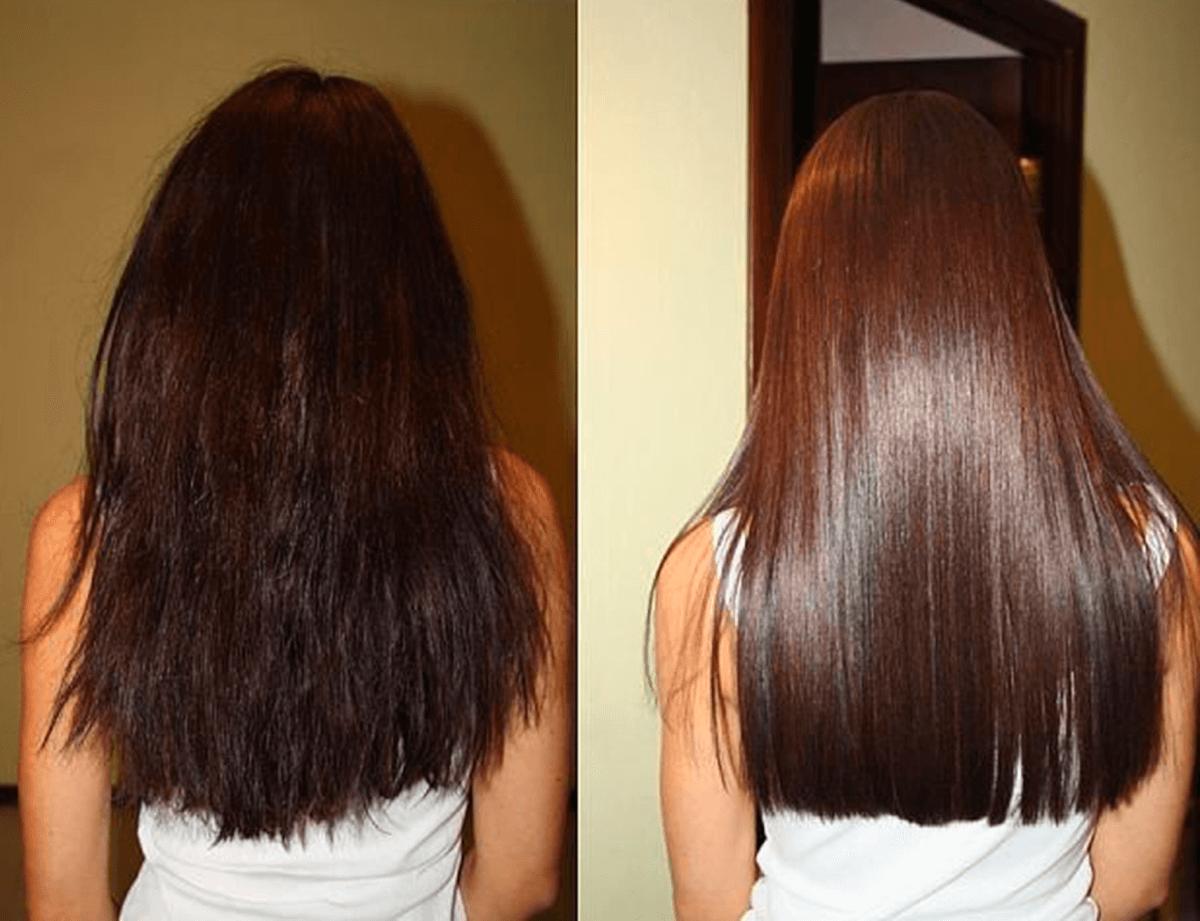 Кератиновое восстановление волос в 68