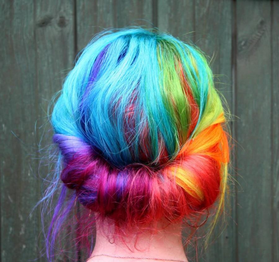 как красить волосы красящим мелком