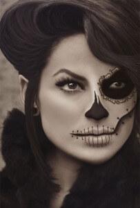 фото страшного макияжа