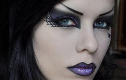 фото макияж ведьмы на хеллоуин
