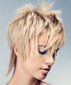 прическа гаврош на короткие волосы фото