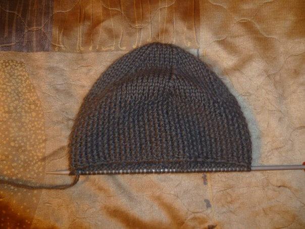 вязание женской шапки фото