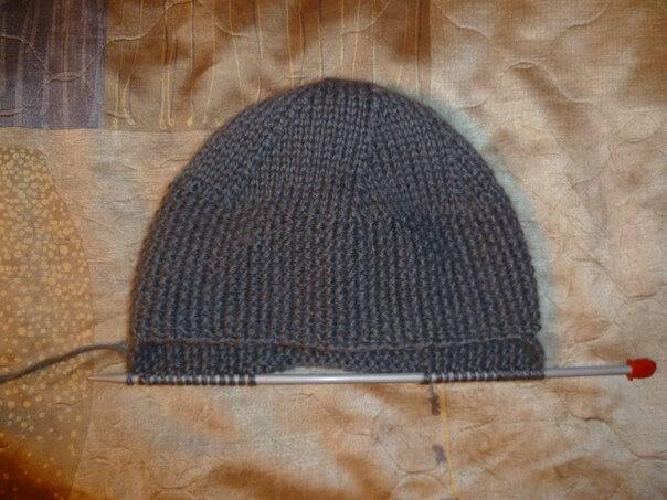 фото вязание ушек шапки