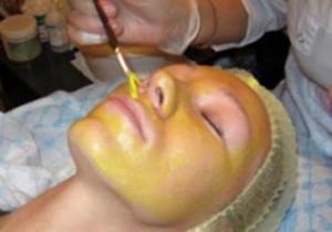фото процедуры желтый пилинг