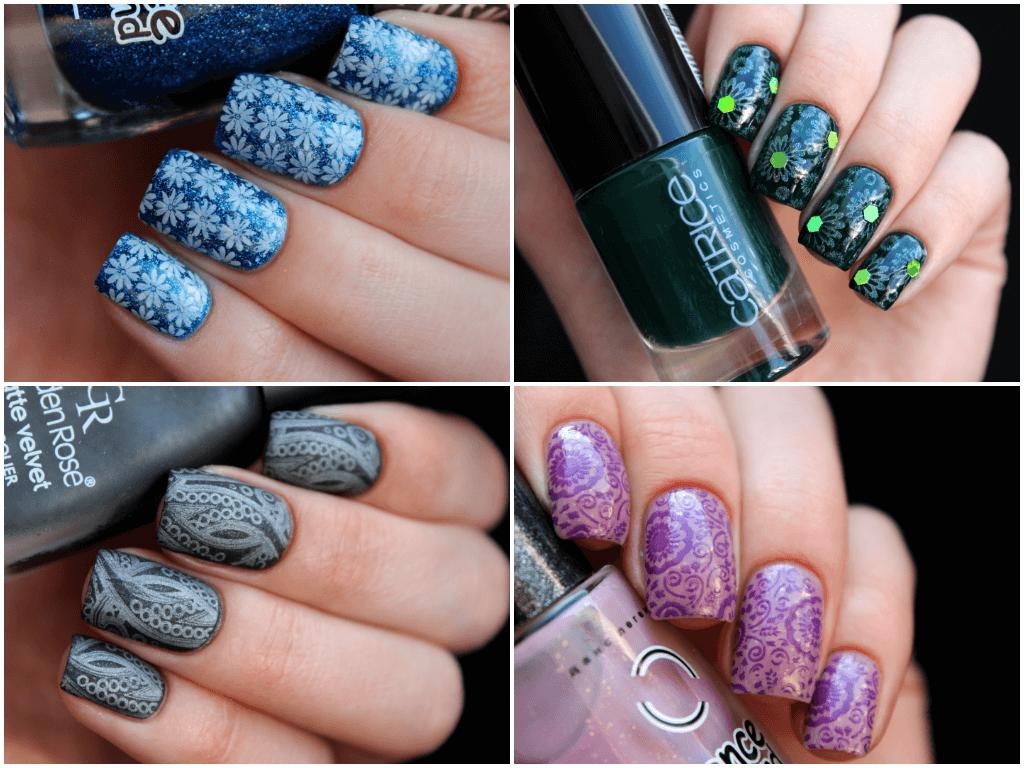 стемпинг для ногтей как пользоваться примеры фото
