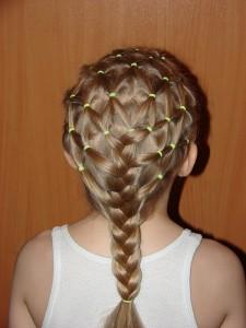 коса сеточка фото