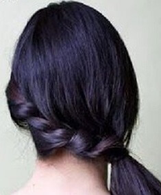 фото косы-жгут