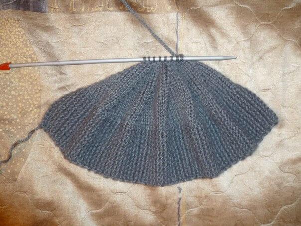 фото вязание шапок спицами