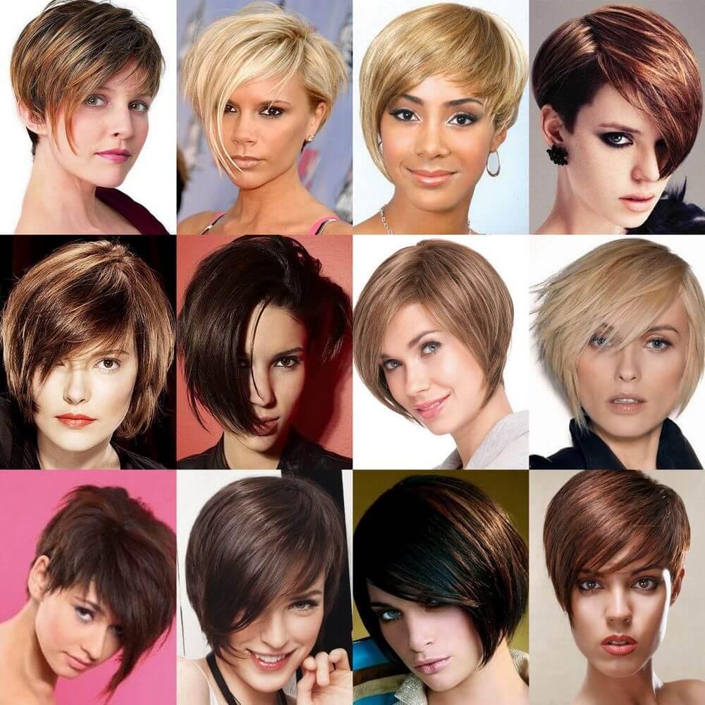 ассиметричные стрижки на волосы фото 2015