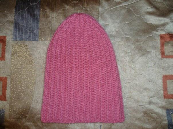 фото вязания шапки такори