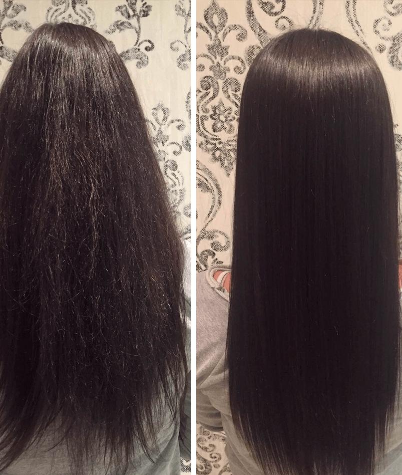 как сделать ботокс волос