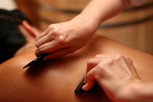 фото массажа гуаша