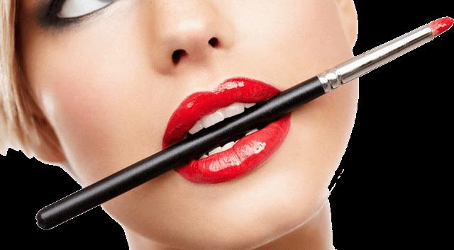 фото макияж губ эффект увеличения