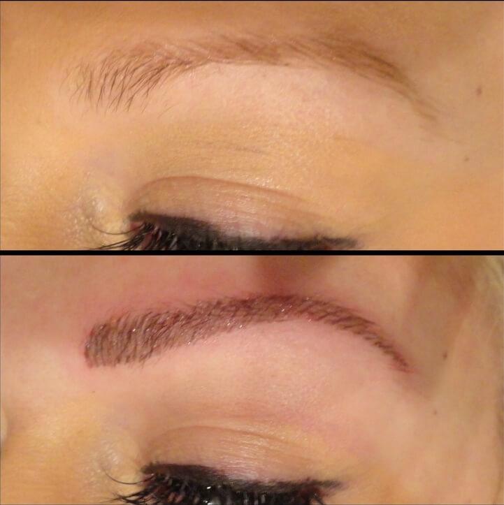 Пермаментного макияжа бровей
