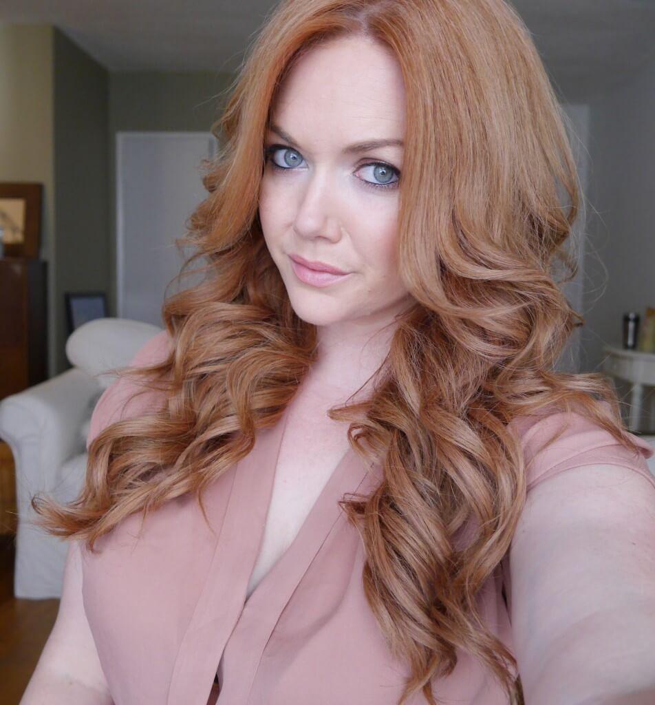клубничный блонд оттенок для волос