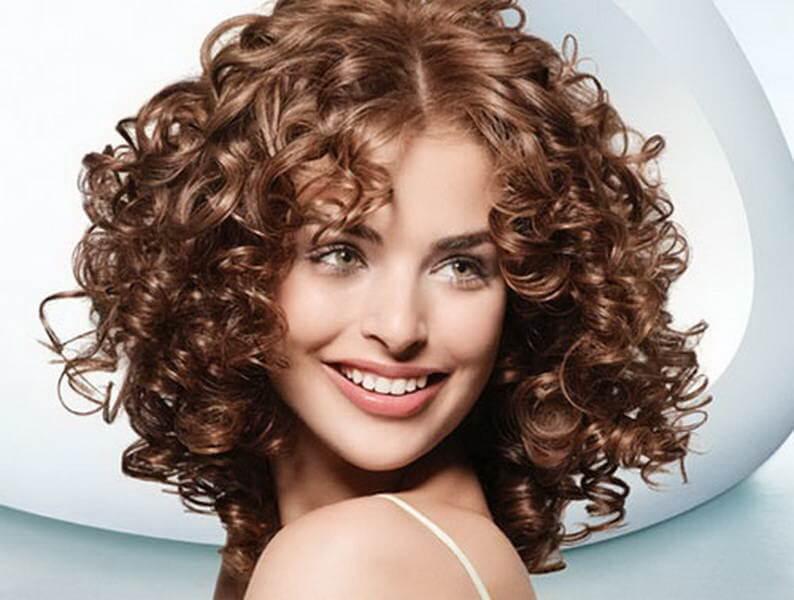 фото биохимической завивки волос