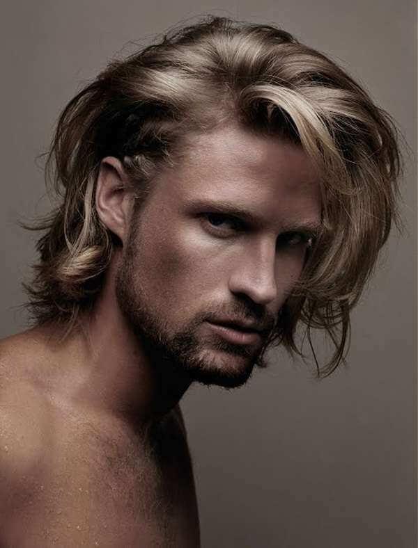 мужская стрижка длинные волосы