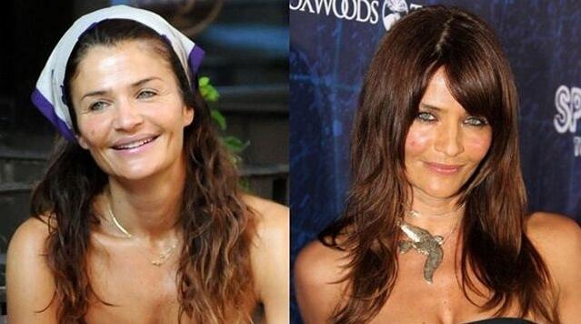 фото звезд без макияжа до и после
