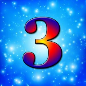 цифра 3 в нумерологии