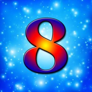 фото цифра восемь в нумерологии