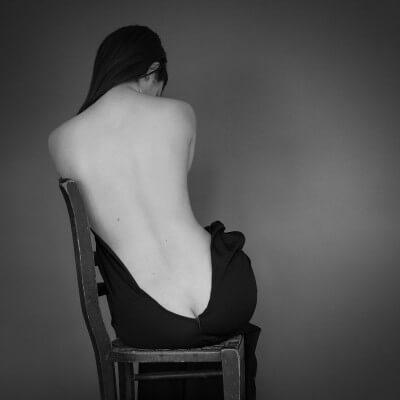 фото красивой женской спины