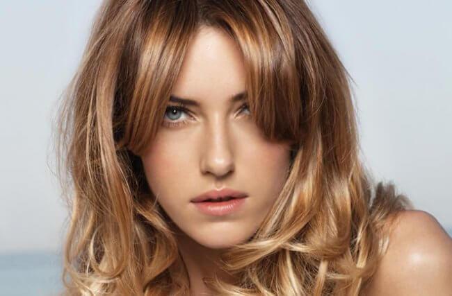 фото медирование мажимеш на средних волосах