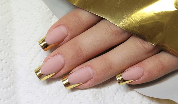 Фольга для ногтей фото