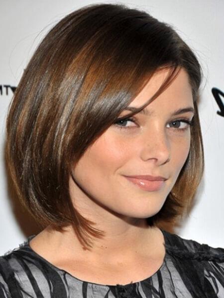 фото стрижки для средней длины волос