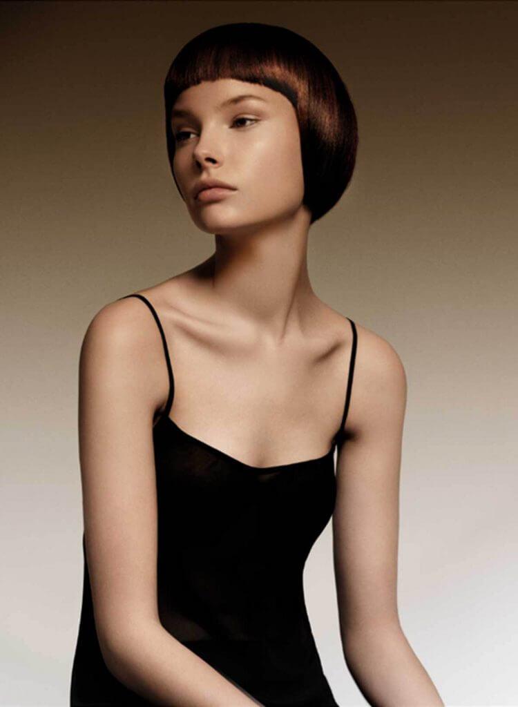 стрижка сессон на короткие волосы фото