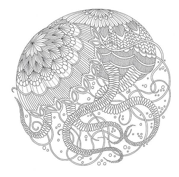 мандала медузы