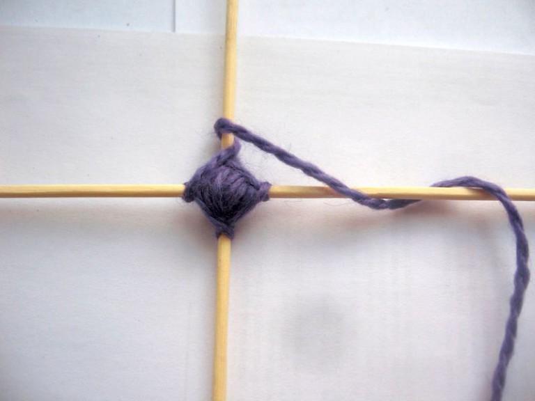 Следующий шаг плетения