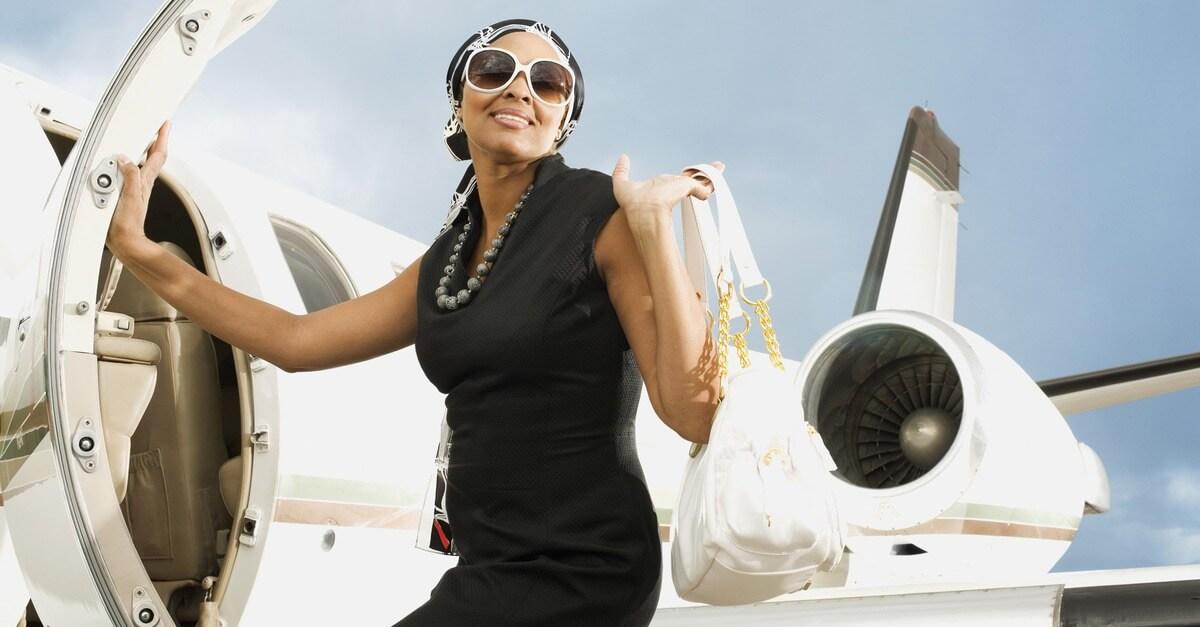 успешная и богатая женщина фото
