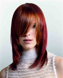 гарсон на длинных волосах фото