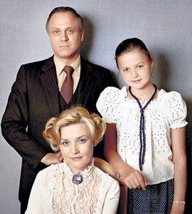 фото Юлия Меньшова с родителями