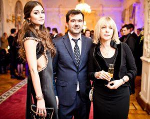 Фото Шубская с семьей