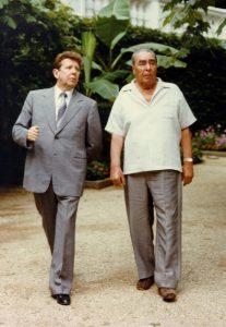 Фото Чазов и Брежнев