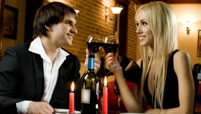 пара с вином