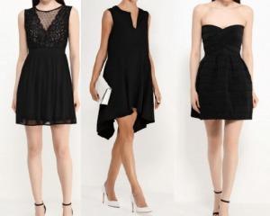 фото коктейльных черных платьев