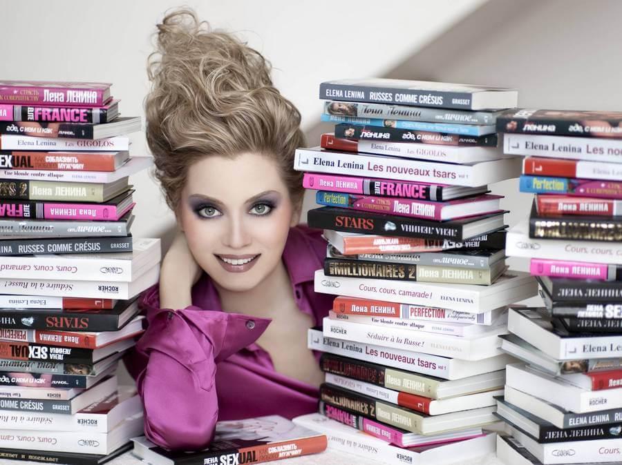 фото лениной с книгами