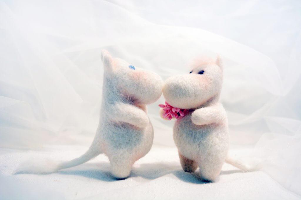 фото игрушки муми тролль и фрекен снорк фото