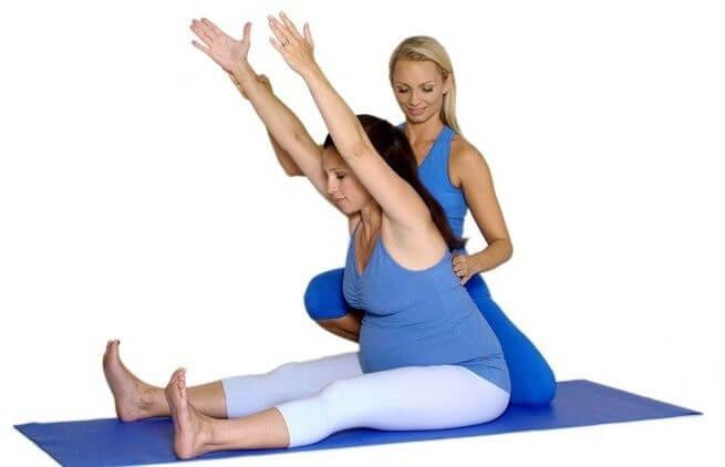 фото упражнения Кегеля для беременных
