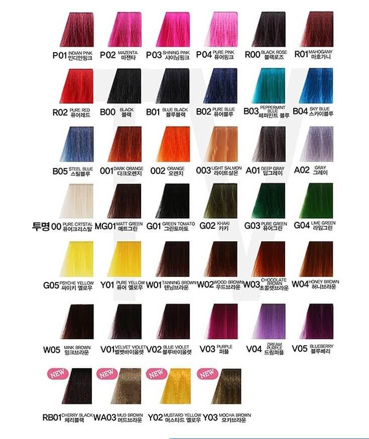 фото кодов и цветов антоцианина