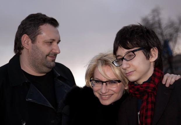 фото Эвелина Хромченко и ее семья